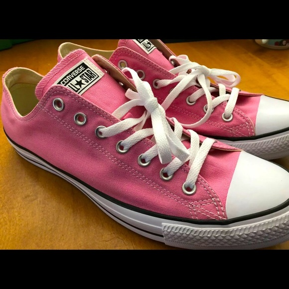 Converse Unisex All Star Low Top Pink M 13 W 15